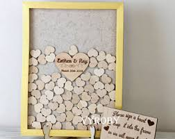 wedding guestbooks wedding guest books etsy