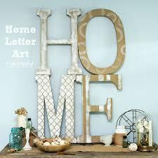 fresh letter home decor decoration idea luxury photo under letter