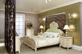 stunning luxury bedroom design with antique room divider laredoreads