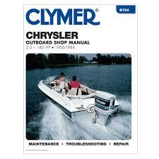 clymer chrysler 3 5 140 hp outboards 1966 1984 b750