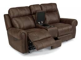 Loveseat Recliner With Console Forrest Flexsteel Com