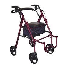drive duet transport wheelchair chair rollator walker 795bu