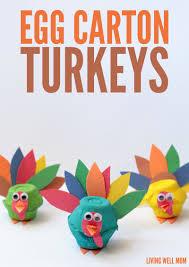 egg turkeys craft