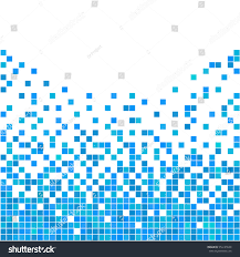 Blue And White Wallpaper by Blue White Pixel Background Abstract Digital Stock Vector