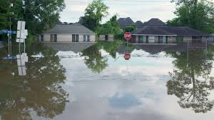 flooded houses stock footage in baton rouge louisiana from