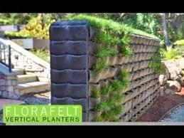 creative florafelt vertical garden design ideas youtube