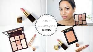 luxury makeup haul u0026 routine ft charlotte tilbury beauty glow
