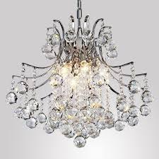 Deckenleuchte Schlafzimmer Messing Alfred Moderne Kristall Kronleuchter Mit 6 Leuchten Modern