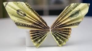 Money Wedding Gift Money Gift Idea Wedding Dress Dollar Bill Origami Tutorial Youtube
