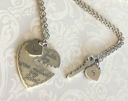 personalized necklaces for couples heart and key necklace couples necklace set heart necklace