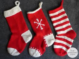 weekend project knit a stocking or three