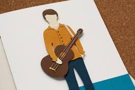 custom card guitar