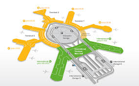Atlanta Airport Floor Plan Maps San Francisco International Airport