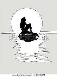 little mermaid copenhagen stock vectors images u0026 vector art
