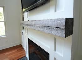 How To Build Fireplace Mantel Shelf - how install a barn beam mantel u2014 decor and the dog