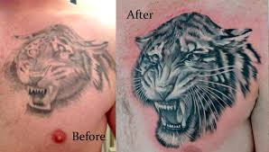 cover up tiger by michele pitacco tattoonow