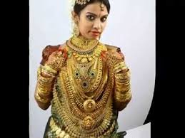 kerala brides for gold ornaments