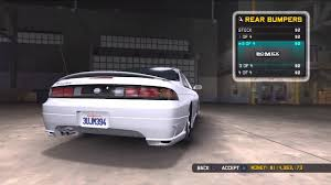 1998 nissan 240sx modified image mcla nissan 240sx rear jpg midnight club wiki fandom