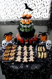 Buffet Table Decor by Best 25 Halloween Buffet Table Ideas On Pinterest Halloween