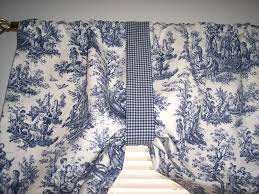Blue Paisley Curtains Brown And Blue Valance Delft Blue On Tie Up Swag Valance Curtains