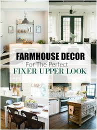 affordable farmhouse decor for the perfect fixer upper look