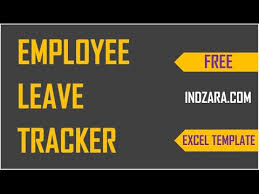 how to track vacations in excel employee leave tracker excel