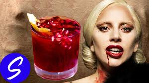 american horror story bloody tooth cocktail go gaga for our