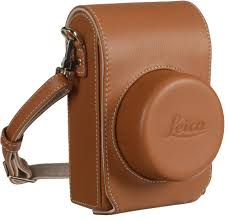 leica bags bag for d typ 109 leather cognac