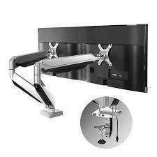 Computer Monitor Mounts Desk Loctek D7d Heavy Duty Swivel Dual Lcd Arm Desk Stand Monitor Mount