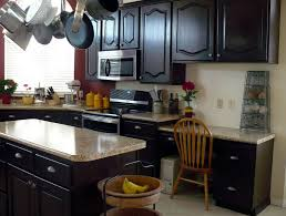 how to stain kitchen cabinets darker home design ideas