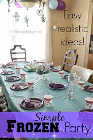 Birthday Decor Ideas At Home 128 Best Frozen Birthday Party Ideas Images On Pinterest