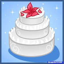 wedding cake emoji learn how to draw a wedding cake food pop culture free step by