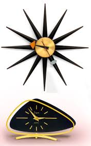 60s Clock 616 Best Clocks That Stop Time Images On Pinterest Vintage