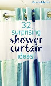 curtain ideas for bathrooms 32 fantastic shower curtain projects idea box by feral turtle