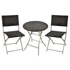 Black And White Patio Furniture Small Space Patio Furniture Target