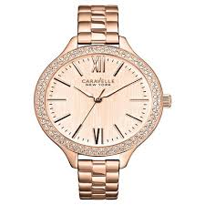 rose tone stainless steel bracelet images Caravelle new york by bulova women 39 s rose gold tone stainless