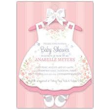 baby girl baby shower baby girl baby shower invitation ba girl dress invitations