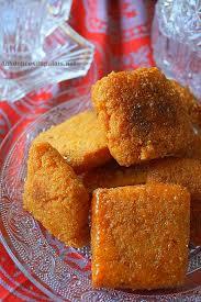 cuisine alg駻ienne gateaux recettes mbesses au miel gâteau de semoule algérien aux délices du palais