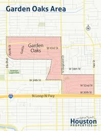 Texas Zip Code Map Garden Oaks Houston Tx Neighborhood U0026 Real Estate Guide