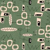 Midcentury Modern Wallpaper - mid century modern fabric wallpaper u0026 gift wrap spoonflower