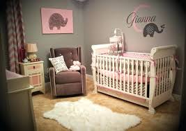 Pink Elephant Nursery Decor Baby Nursery Pink And Gray Baby Elephant Nursery Pink