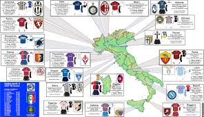 2007 World Map by Italy 2007 08 Serie A Zoom Map Billsportsmaps Com