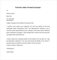 formal letter example amitdhull co