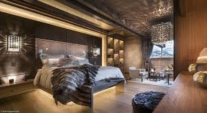 chambre chalet chambre coucher design chalet location alpes moderne luxe