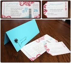 Boarding Pass Wedding Invitation Card Mehndi Designs 2012 Wedding Invitation