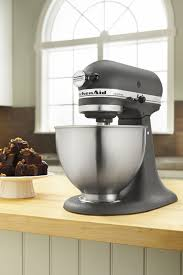 designer kitchen aid mixers kitchenaid ultra power tilt head stand mixer imperial grey in