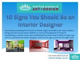 How To Be An Interior Designer | nyiad interior design 10 signs you should be an interior designer