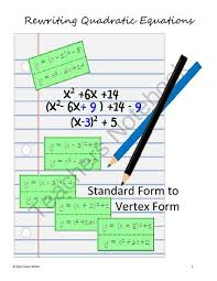 13 best vertex form images on pinterest high maths