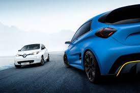 renault zoe 2018 renault zoe e sport muscles up with 460bhp ev hyper hatch by car