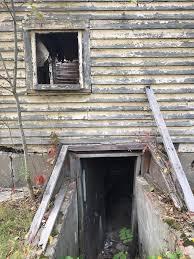 you u0027 written on the ceiling inside ithaca u0027s abandoned house